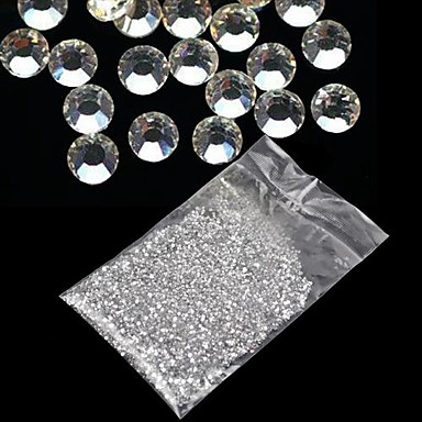20000 pcs Nail Art Takımı Tırnak Takısı Yapay Elmaslar Sevimli tırnak sanatı Manikür pedikür Günlük Moda / Nail Jewelry
