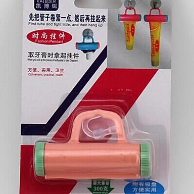 πλαστικό πίεση ανάρτησης οδοντόκρεμα (τυχαία χρώμα)