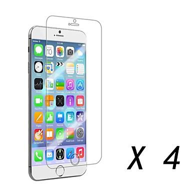 4 st high definition främre skärmskydd för iphone 6s / 6