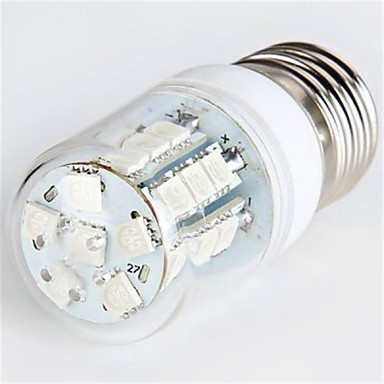 YWXLIGHT® 300 lm E26/E27 LED Λάμπες Καλαμπόκι T 27 leds SMD 5050 Κόκκινο AC 220-240V