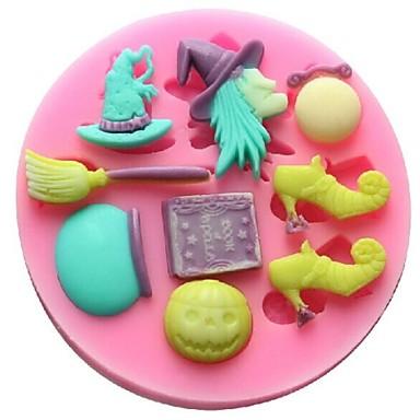 Bakeware araçları Silikon Çevre-dostu / Kendin-Yap Kek / Kurabiye / Çikolota Pişirme Kalıp 1pc