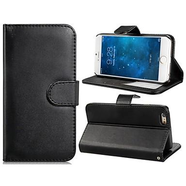 4.7 '' faux lederen flip case met mount statief& credit card slots voor iPhone 6 (verschillende kleuren)