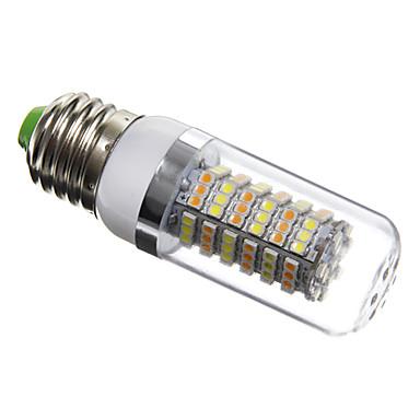 6W E26/E27 Becuri LED Corn T 120 SMD 3528 420 lm Alb Natural AC 220-240 V