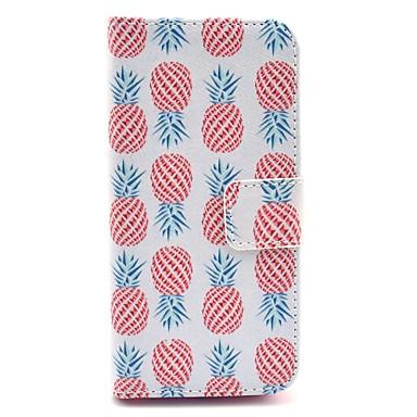 Maska Pentru iPhone 5 Apple Carcasă iPhone 5 Titluar Card Portofel Cu Stand Întoarce Model Carcasă Telefon Fruct Greu PU piele pentru