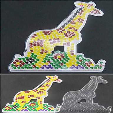 1buc șablon model margele de siguranțe clar pegboard girafă de margele HAMA 5mm puzzle DIY