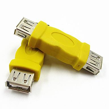 0,1 0.328ft USB2.0 θηλυκό σε θηλυκό USB 2.0 καλώδιο USB