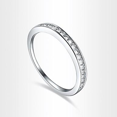 Dames Statement Ring Schermkleur Zirkonia Kubieke Zirkonia Gesimuleerde diamant Legering Luxe Liefde Hart Modieus Europees Feest Kostuum