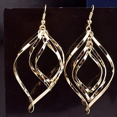 Dames Druppel oorbellen Legering Sieraden Zilver Gouden Bruiloft Feest Dagelijks Causaal Kostuum juwelen