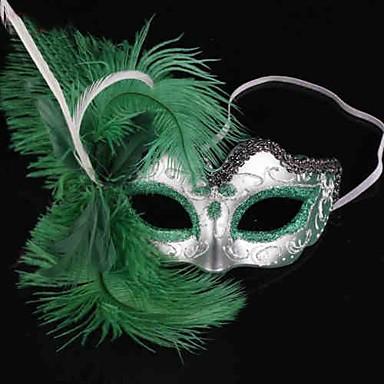Carnaval Máscara Feminino Dia Das Bruxas Dia dos Mortos Festival / Celebração Trajes da Noite das Bruxas Sólido
