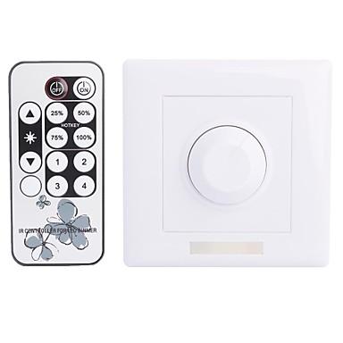 8a 1-Kanal-Smart-IR-Dimmer mit Fernbedienung für LED-Licht (300 W AC 90 ~ 240V)