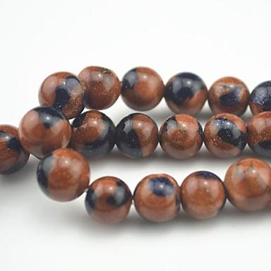 Jóias DIY 30PC/BAG Contas kits Pedra Semi-Preciosa Bead 0.8 cm faça você mesmo Pulseiras Colar