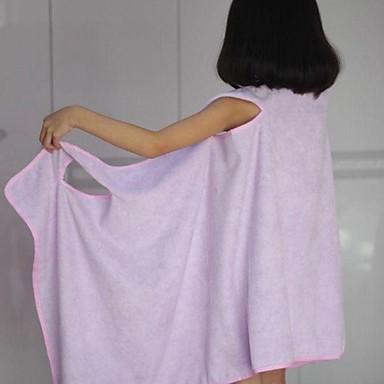 Taze Stil Banyo Havlusu Üstün kalite %100 Mikro Fiber Örgülü Havlu Banyo Havlusu