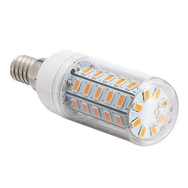 1pc 4 W 360 lm E14 / E26 / E27 LED Λάμπες Καλαμπόκι 48 LED χάντρες SMD 5730 Θερμό Λευκό / Ψυχρό Λευκό 220-240 V