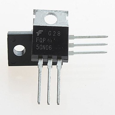 FQP50N06 to-220 50n06 60v n-channel mosfet (5pcs)