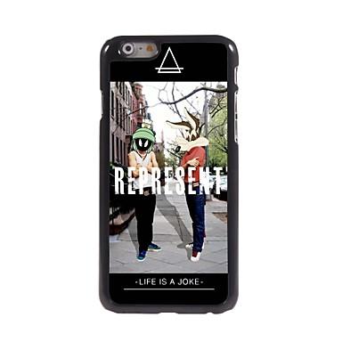 vertegenwoordigen ontwerp aluminium hard case voor de iPhone 6 plus iPhone-hoesjes