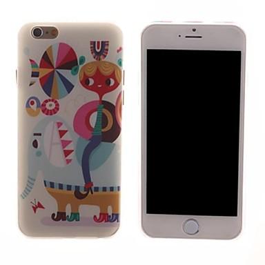 cartoon pc harde case voor de iPhone 6