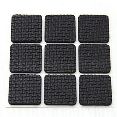 18 stuks viskeuze vierkante tafels en stoelen been anti-slip beschermende pad (willekeurige kleur)