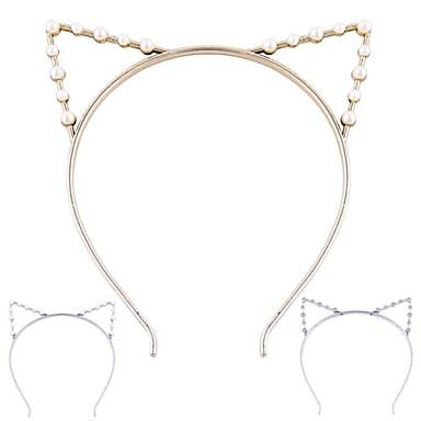 (1 pc) doces orelhas de gato headbands para mulheres (jóias hualuo)