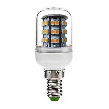 180lm E14 LED Λάμπες Καλαμπόκι T 48 LED χάντρες SMD 3528 Διακοσμητικό Θερμό Λευκό 220-240V / RoHs