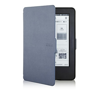 Pouzdro Uyumluluk Amazon Tam Kaplama Kılıf / Tablet Kılıfları Solid Sert PU Deri için