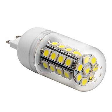 450 lm G9 LED-maïslampen T 36 leds SMD 5050 Koel wit AC 220-240V