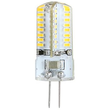 ywxlight® 3w g4 οδήγησε φώτα καλαμποκιού οδήγησε φώτα bi-pin 64 leds smd 3014 ζεστό λευκό 300lm 3000-3500k ac 100-240v