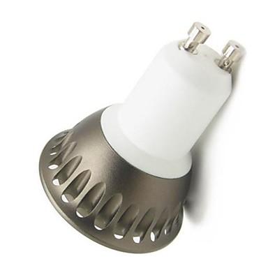 GU10 Lâmpadas de Foco de LED A60(A19) leds COB Regulável Decorativa Branco Quente 500lm 2800-3000K AC 220-240V
