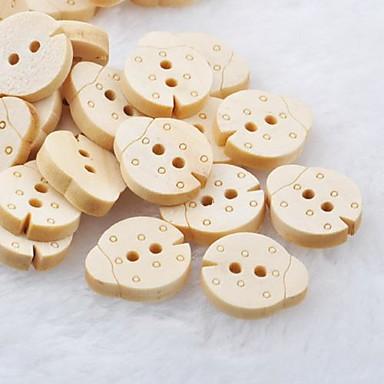 kevers plakboek scraft naaien diy houten knopen (10 stuks)