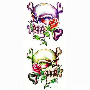 #(1) - #(18.5*8.5) - Πολύχρωμο Άλλα - Αυτοκόλλητα Τατουάζ - Μοτίβο/Waterproof - από Χαρτί για Γυναικεία/Girl/Ενήλικες/Εφηβικό
