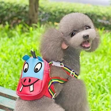 Katze / Hund Rucksack Hundekleidung Cartoon Design Rose Fasergemisch Kostüm Für Haustiere Herrn / Damen Cosplay / Wasserdicht / Hochzeit