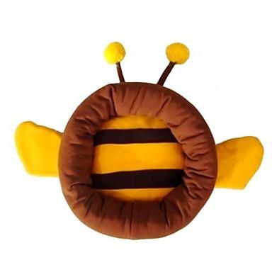 رخيصةأون مستلزمات وأغراض العناية بالكلاب-جميل الشكل النحل الأصفر اللون البني السرير عش للحيوانات الاليفة الكلاب القطط (أحجام متنوعة)