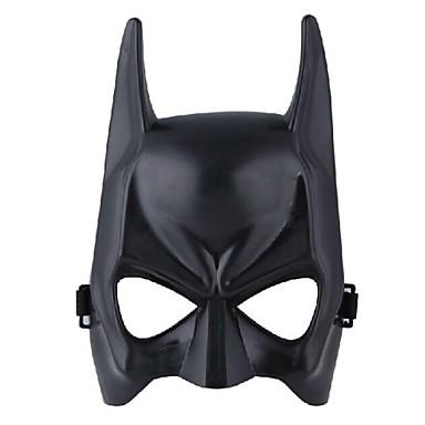 9pcs Plastik Cadılar Bayramı Maskeleri Maskeler