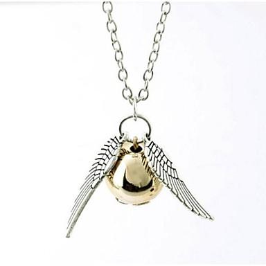 Kadın's Uçlu Kolyeler - Top Moda Gümüş, Bronz Kolyeler Mücevher 1pc Uyumluluk Doğumgünü, Hediye, Günlük
