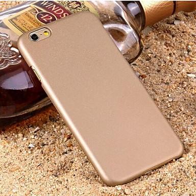 hoesje Voor Apple iPhone 6 iPhone 6 Plus Mat Achterkant Effen Kleur Hard PC voor iPhone 6s Plus iPhone 6s iPhone 6 Plus iPhone 6