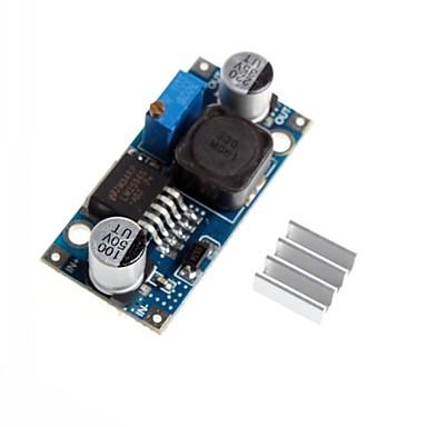 lm2596 - alüminyum heatsink ile adj DC-DC ayarlanabilir adım aşağı azaltma gerilim basınç düşürme modülü