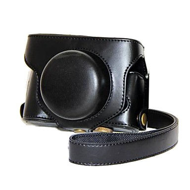 pajiatu® ρετρό pu δέρμα κάμερα προστατευτική θήκη με ιμάντα ώμου για FUJIFILM X30