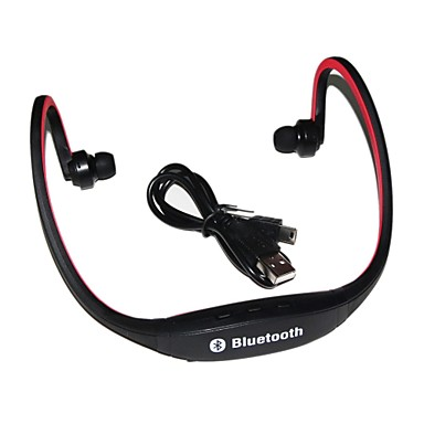 Draadloze Bluetooth Hoofdtelefoon met microfoon Sport Wielrennen Hardlopen Wandelen Fitness