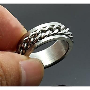 δακτύλιος από ανοξείδωτο χάλυβα χαραγμένα κοσμήματα εξατομικευμένες άνδρες δώρου