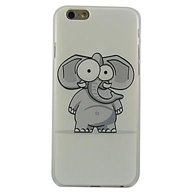 Για Θήκη iPhone 6 / Θήκη iPhone 6 Plus Με σχέδια tok Πίσω Κάλυμμα tok Ελέφαντας Σκληρή PC iPhone 6s Plus/6 Plus / iPhone 6s/6