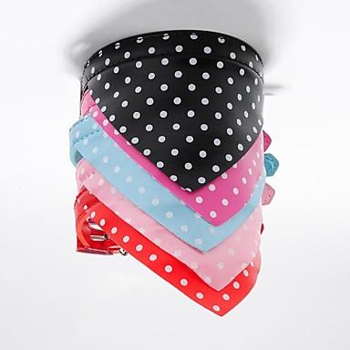 Kat Hond Kraag Bandana halsband Bandana's Zwart Roos Rood Blauw Roze