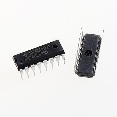 74hc595 dip-16 74hc595n sn74hc595n 8-bitlik shift register ic çip dip-16 (5 adet)