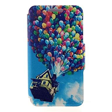 Voor Nokia hoesje Kaarthouder / Flip hoesje Volledige behuizing hoesje Ballon Hard PU-leer Nokia Nokia Lumia 520
