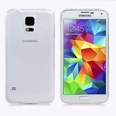 Maska Pentru Samsung Galaxy Samsung Galaxy Carcasă Transparent Carcasă Spate Culoare solidă TPU pentru S4