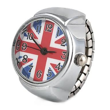 pentru Doamne Ceas La Modă Ceas inel Quartz Aliaj Bandă Vintage Argint