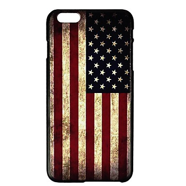 case for iphone fitin 174 us flag pattern plastic for iphone 6 4 7 10342