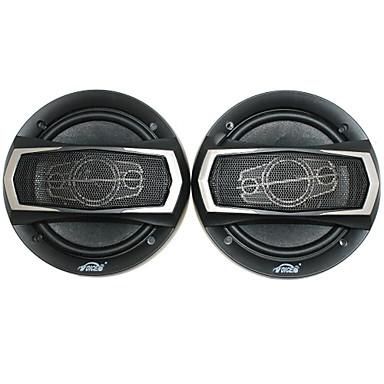 Montaj aksesuarları ile 6 inç 400w araç hoparlörleri, siyah (çift)