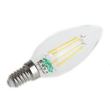 Retro Vintage Pull Tail Filament Bulb E14 2w Led Edison Bulb Cross Candle Light Chandelier Led Lamps Wholesale Warm White Decor Low Price Light Bulbs
