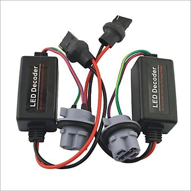 Auto 7440 t20 LED-Licht Warnung Canceller Lastwiderstand Decoder - 2St