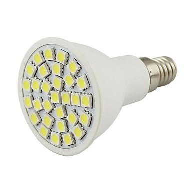 2 W 450-500 lm E14 LED Σποτάκια 30 leds SMD 5050 Διακοσμητικό Θερμό Λευκό Ψυχρό Λευκό AC 110-130V DC 12V