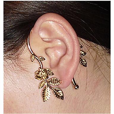Χειροπέδες Ear Κοσμήματα με στυλ Ευρωπαϊκό Κράμα Τριαντάφυλλα Λουλούδι Κοσμήματα Γάμου Πάρτι Καθημερινά Causal Κοστούμια Κοσμήματα